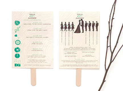 Wedding Ceremony Program Wording (and Samples) | Hitch Studio