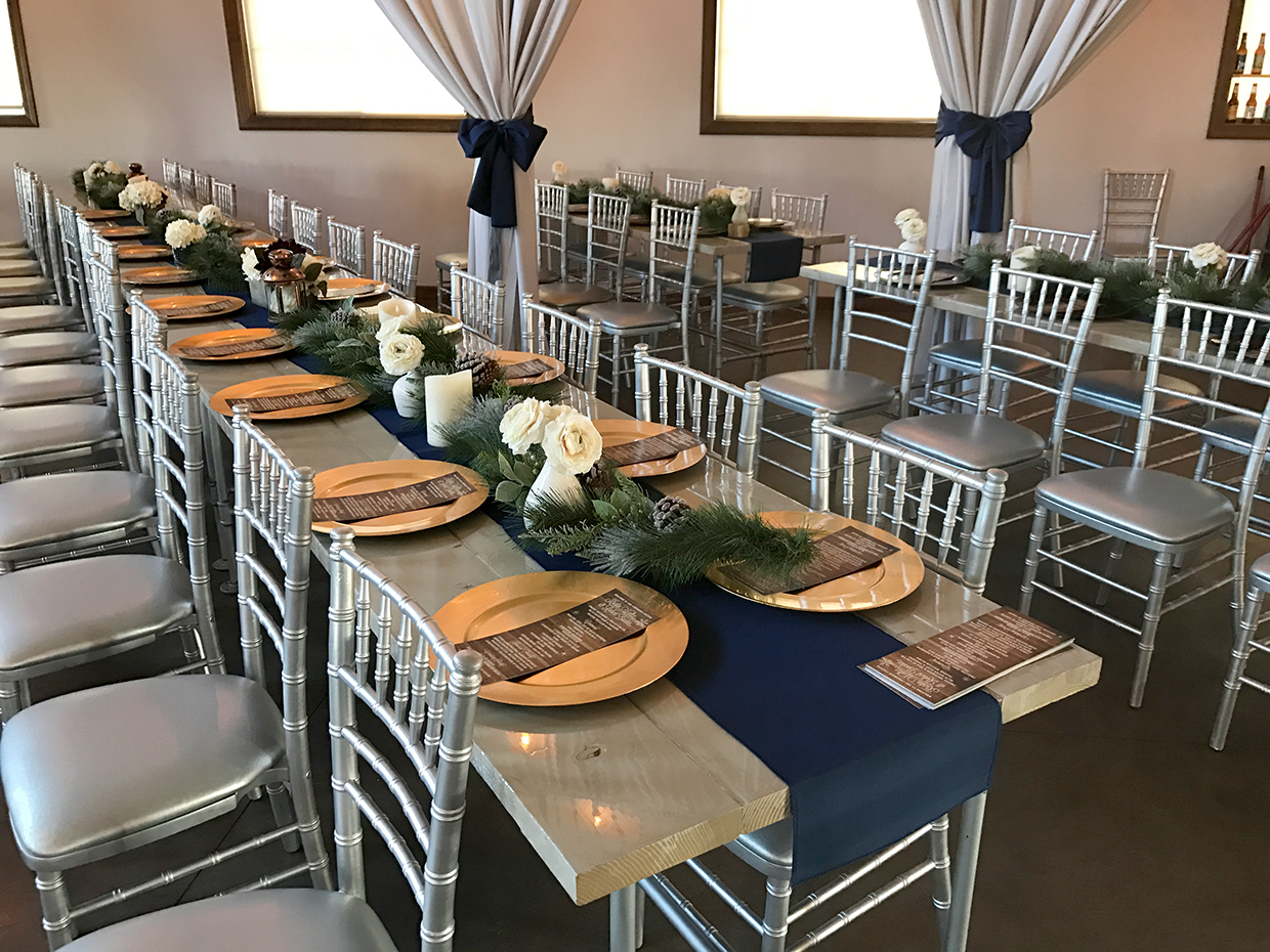 Ceremony And Reception In Same Room: What To Know When You're Planning A Winter Wedding In