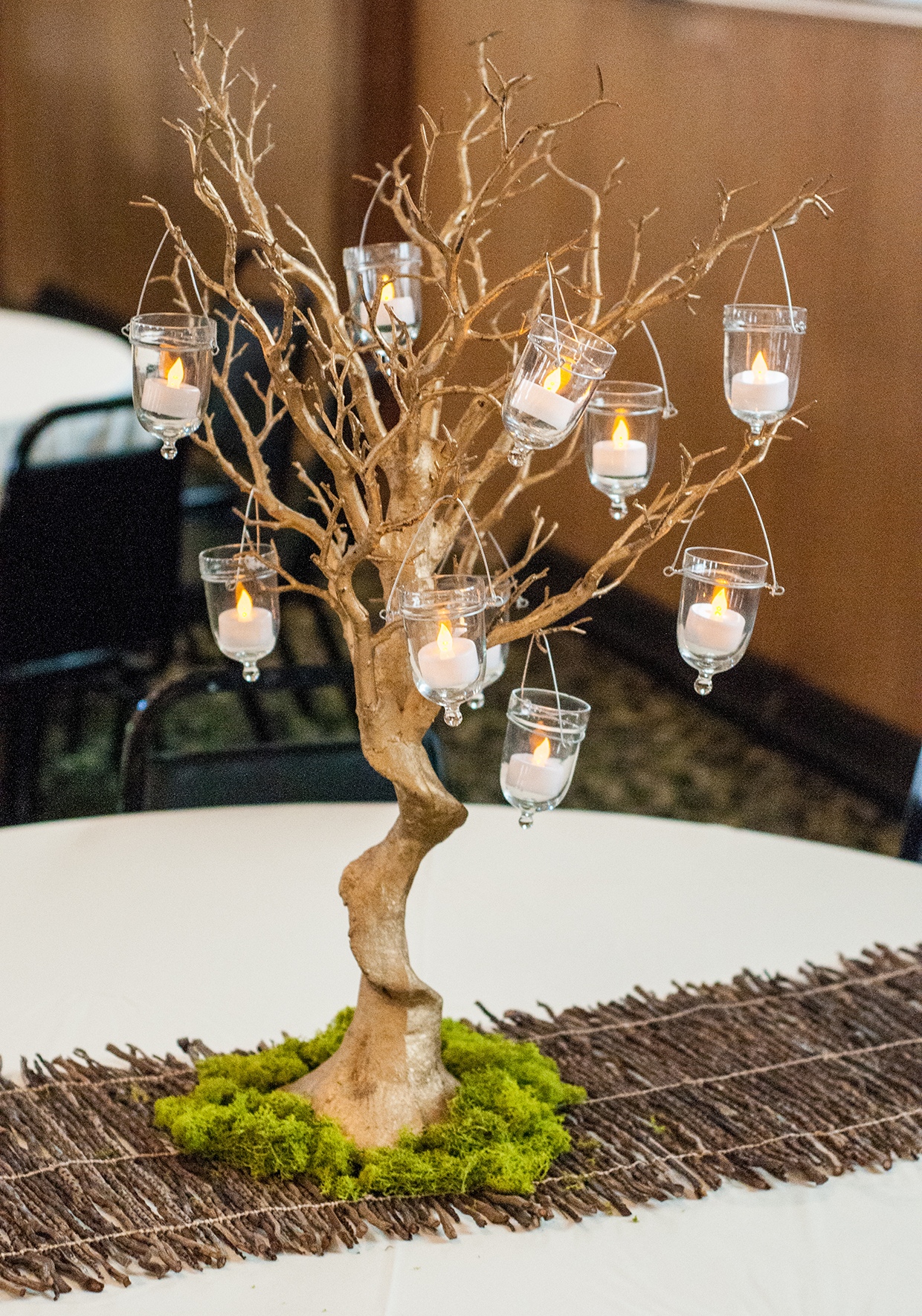 Mossy Enchanted Forest Themed Wedding in Brookings SD