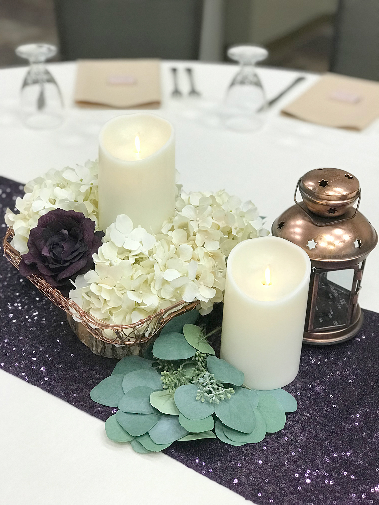 Dorable Winter Wedding Centerpieces Composition - The Wedding Ideas ...