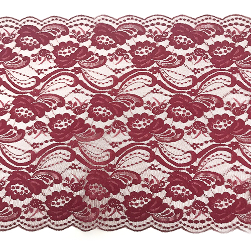 WeddingDecor-Burgundy-Lace-Runner