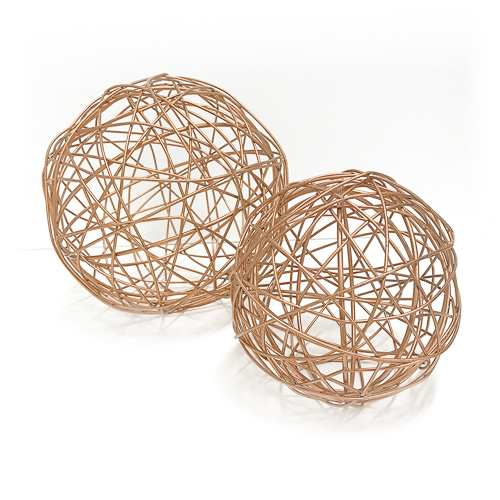 WeddingDecor-Copper-Wire-Balls