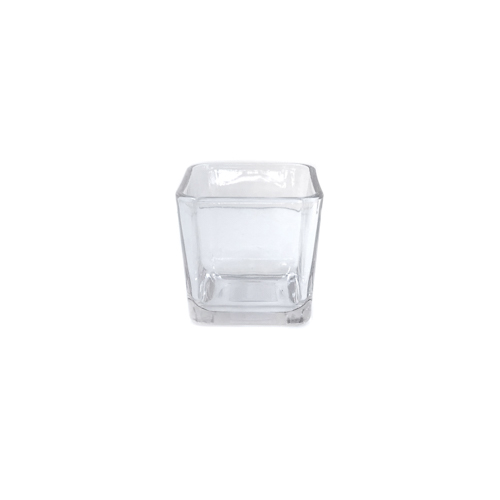 WeddingDecor-Glass-Vase-Cube-Short