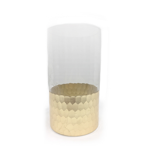 WeddingDecor-Gold-Dipped-Vase-Cylinder