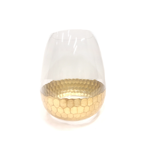 WeddingDecor-Gold-Dipped-Vase-Teardrop