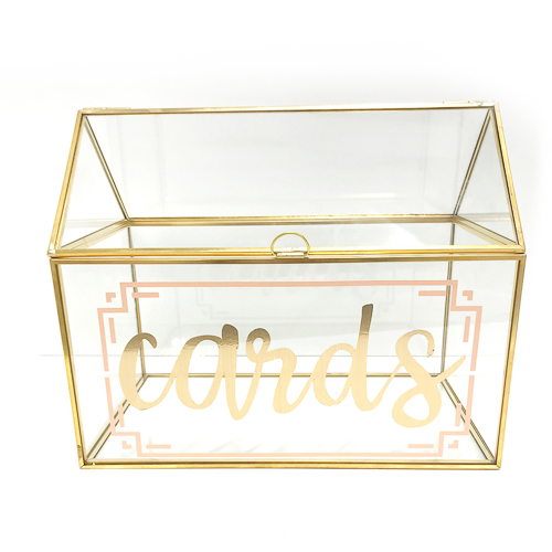 WeddingDecor-Gold-Geometric-Cardbox