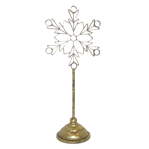 WeddingDecor-Gold-Snowflake-Stand