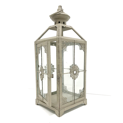 WeddingDecor-Gray-Lantern-Small