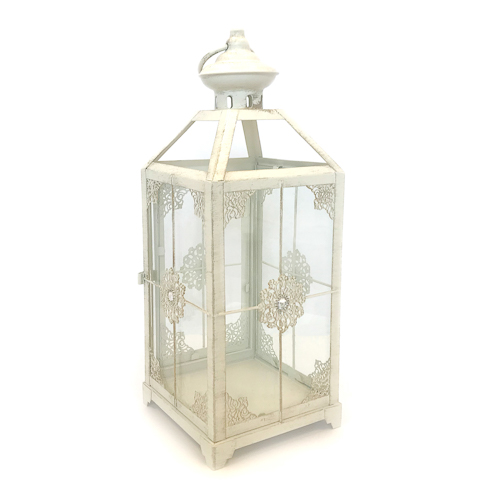WeddingDecor-Ivory-Lantern