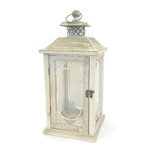 WeddingDecor-Ivory-Lantern-Tall