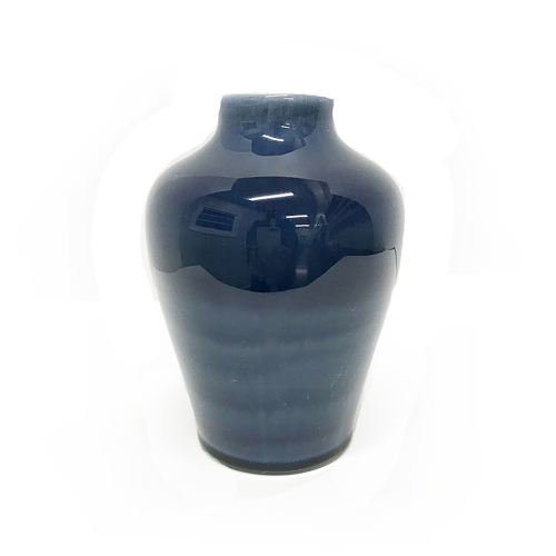 WeddingDecor-Navy-Blue-Vase-Short