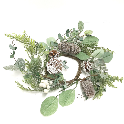 WeddingDecor-Pine-Sparkle-Mini-Wreath