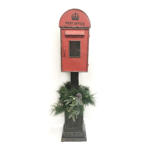 WeddingDecor-Red-Mailbox-Large