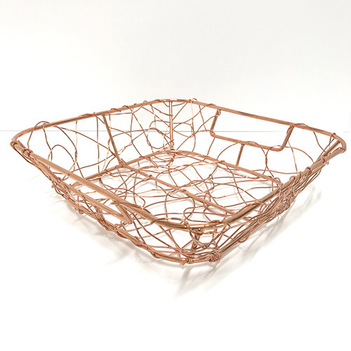 WeddingDecor-RoseGold-Basket