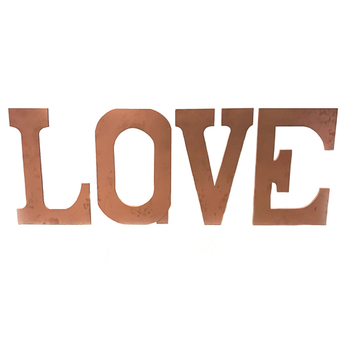 WeddingDecor-RoseGold-LOVE-Sign