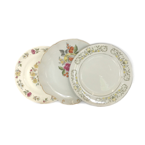 WeddingDecor-Vintage-Plates