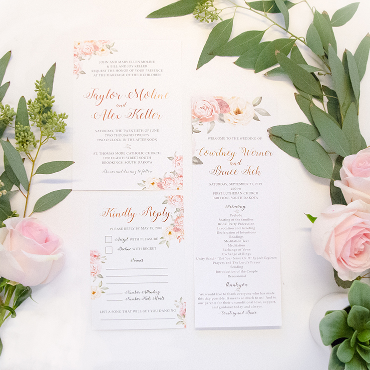 Taylor Moline Wedding Invitations