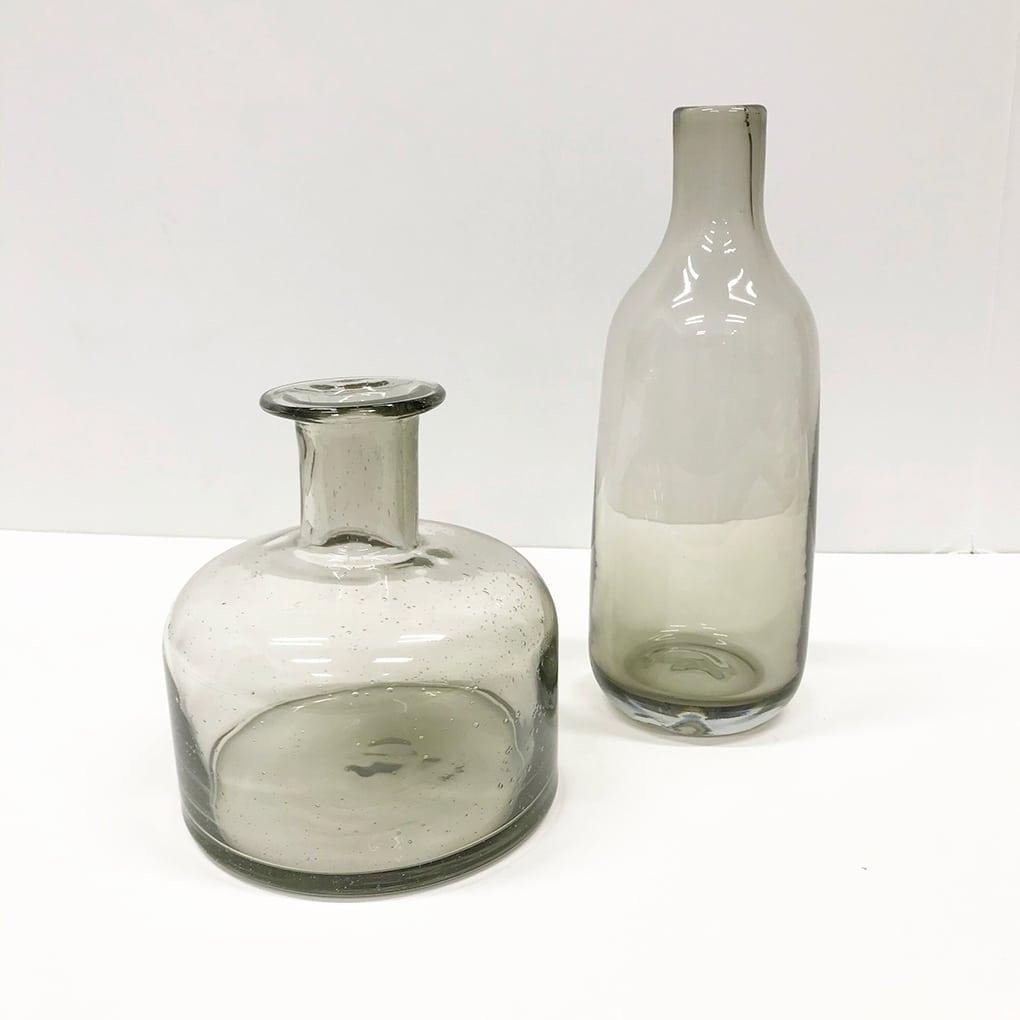 Wedding-Decor-Gray-Bottles
