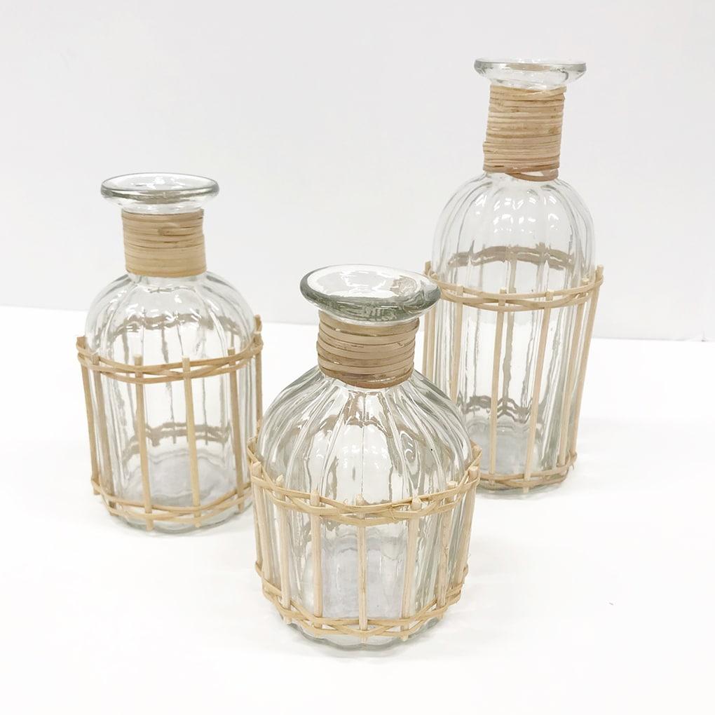 Wedding-Decor-Wicker-Bottles