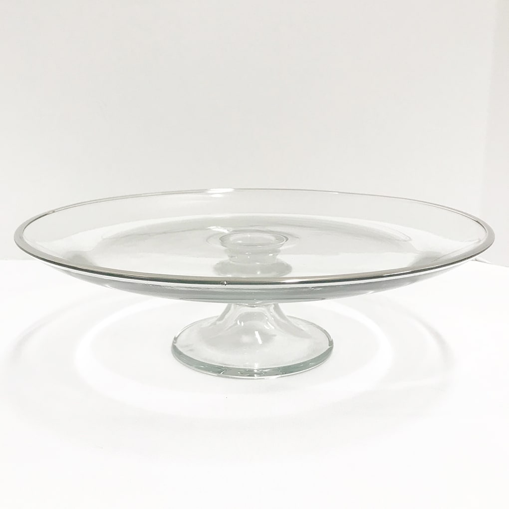 WeddingDecor-Glass-Cake-Stand